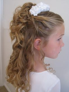 Wondrous 1000 Images About Melia Hair On Pinterest Flower Girl Hair Hairstyle Inspiration Daily Dogsangcom