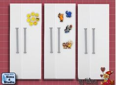 All4Sims: Fridge by Oldbox • Sims 4 Downloads