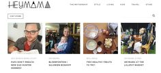 A style-driven lifestyle website for parents - New.Life.Style.