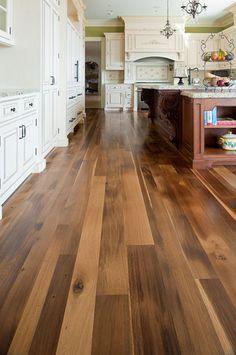 random width plank floors