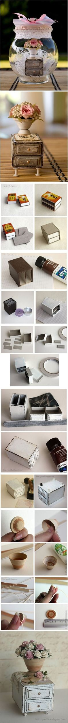 DIY Matchboxes Furniture DIY Projects | UsefulDIY.com Follow Us on Facebook ==> http://www.facebook.com/UsefulDiy