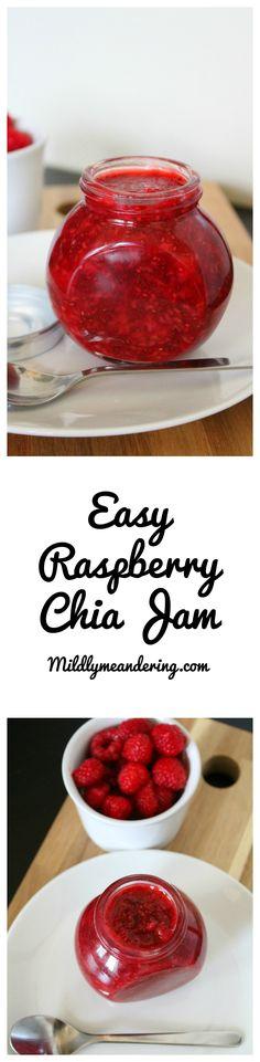 Easy Raspberry Chia