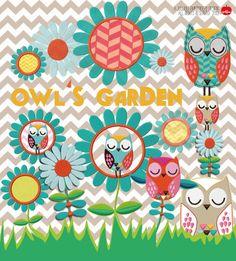 Owl`s Garden Stickdatei - Huups! Stickdateien - angucken: schöne Designbeispiele! und dann kaufen!!!
