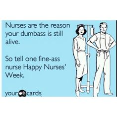 Happy nurses week! To all my Friends & Family who have been blessed with the compassion and patience to be a Nurse. U guys Rock! ❤