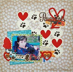 Pawprints on my Heart - Scrapbook.com