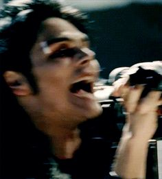 """I accidentally try to imitate his faces while watching music videos without realising I'm doing it and my brother always is like """"sasha, you're not Gerard Way, stop it"""""""