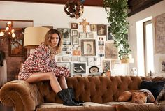 The Electric At Home With Erin Wasson I Just Love Her Place S Erin Wasson Home Interior