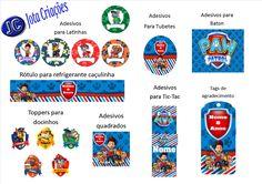 Adesivos para personalizados festa infantil. visite nossa loja www.jotacriacoes.com