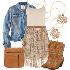"""""""Country Cutie"""" by qtpiekelso on Polyvore"""
