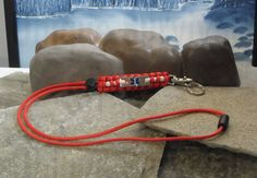 First responder EMS paramedic lanyard in by UniqueSurvivalStraps, $14.95
