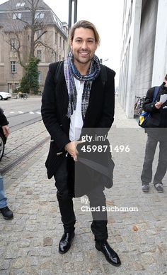 David Garrett sighted at SAT1 television on December 3, 2014 in Berlin, Germany
