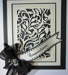 черно-белые открытки из скрапбукинга