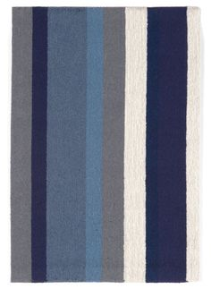 Trans-Ocean Imports NWP23166003 Newport Collection Navy Finish Everywear Rug