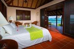 Palm Island Resort room  #grenadines #beach #resort #caribbean