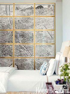 Decorar la pared con cuadros - Casa Haus - Decoración