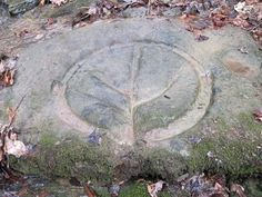 """Unusual Rock Carving Discovered in West Virginia, unknown origins."""