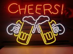 17x14 Cheers Logo Beer Bar Pub Store Garage Neon Light Sign V77 104 €