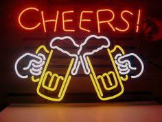 17x14 Cheers Logo Beer Bar Pub Store Garage Neon Light Sign V77 104 €