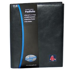 Boston Red Sox Leather Portfolio