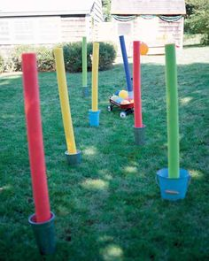 Backyard Olympics games: Obstacle course ideas from Martha Stewart Living