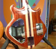 """One-of-a-kind Alembic """"Tomahawk"""" bass"""