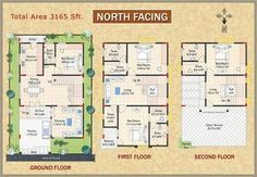 west facing house plan in small plots indian 2bhk House Plan, Up House, Dream House Plans, Modern House Plans, Small House Plans, North Facing House, West Facing House, 30x40 House Plans, 2 Bedroom House Plans