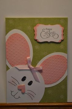 Save Your Money Thanks To Easter Cards Handmade - kids cards Easter Projects, Easter Crafts For Kids, Kids Cards, Baby Cards, Origami, Easter Art, Punch Art Cards, Homemade Cards, Stampin Up Cards