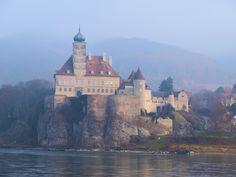 Beautiful Danube river Castles.