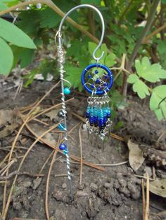 Dream Catcher Garden Chime Miniature Garden by FairyElements