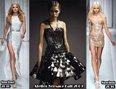 Donatella Versace's designs