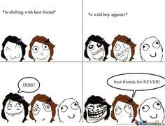 Funny meme friends