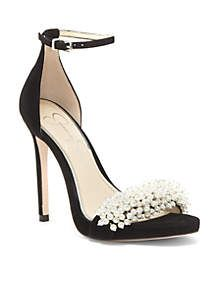 db6384fa7f21 Jessica Simpson High Heel Ankle Strap Sandals