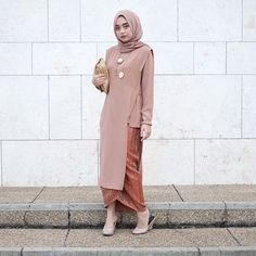 Dress Casual Wedding Gowns 65 Ideas For 2019 Kebaya Lace, Batik Kebaya, Kebaya Dress, Batik Dress, Hijab Dress, Kebaya Modern Hijab, Kebaya Hijab, Kebaya Muslim, Muslim Dress