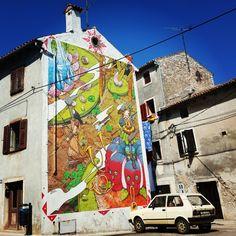 Street art in Croatia