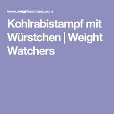 Kohlrabistampf mit Würstchen | Weight Watchers