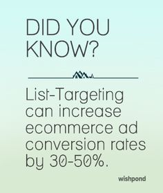 Targeting your Facebook Ad to existing contacts allows you the most specific focus available. Email Address, Ecommerce, Target, Ads, Facebook, E Commerce, Target Audience, Goals