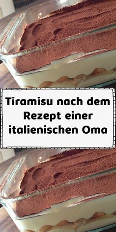 Tiramisu nach dem Rezept einer italienischen Oma - Zutaten 100 g Puderzucker 4 Eigelb 2 Eiweiß 2 Tasse/n Kaffee stark oder Espresso 500 g Mascarpo - Italian Dinner Recipes, Best Dinner Recipes, Sweet Recipes, Fruit Smoothies, Smoothie Recipes, Healthy Dessert Recipes, Food Cakes, Donut Recipes, Cupcake Recipes