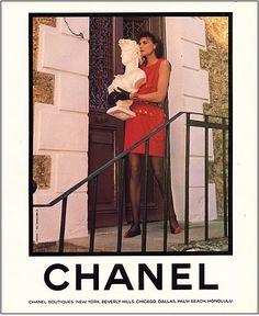 Vintage Chanel Ads   RDuJour