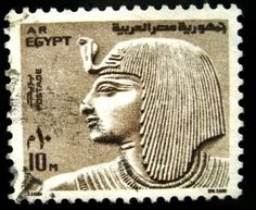 :::: ✿⊱╮☼ ☾ PINTEREST.COM christiancross ☀❤•♥•* :::: Stamp - Egypt
