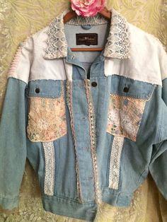 Shabby Chic Denim Jacket