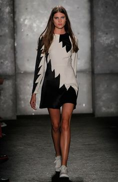Love this look  41. Estee Rammant in Marc by Marc Jacobs SS14