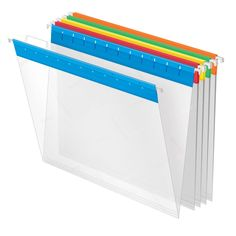 Amazon.com : Pendaflex EasyView Hanging Folders, Letter Size, Assorted Colors, 25 per Box (55708) : Hanging File Folders : Office Products