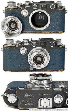 Vintage Camera Leitz: Leica IIIc K German Navy, blue camera Leica Camera, Pinhole Camera, Camera Gear, Antique Cameras, Old Cameras, Vintage Cameras, Dslr Photography Tips, Film Photography, Pregnancy Photography