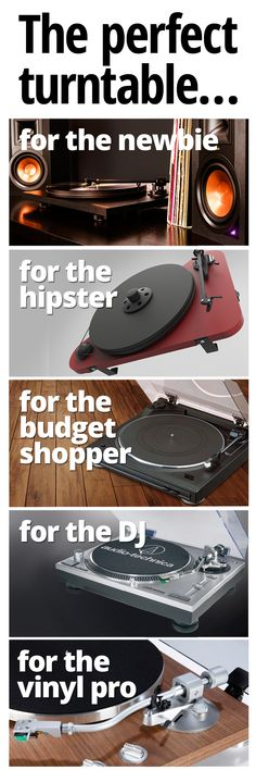 Looking to add a turntable to your wish list? What kind of listener are you?