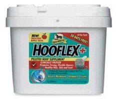 Absorbine Hooflex+ Supplment - 60 Day by Absorbine. $99.99. Size: 60 Day. Apple Flavor Hooflex+ is a 100% bio-available pelleted hoof supplement from Absorbine clinically proven to promote strong, flexible hooves plus promote healthy coat, skin and hair. Now available in a palatable apple flavored pellet. Hooflex+ is fortified with stabilized rice bran, a nutrient-rich absorption catalyst to aid in the delivery and performance of the highest quality biotin, methi...