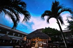 The #GrandSunsetPrincess Hotel is a 5-Star luxury destination perfect for a tropical wedding! ~~ Join our #IDoMexico Wedding Planner for more info and 150+ venue options. Enjoy tips and advice from our experts there like #MelissaMercadoPhotography ~~ I Do Mexico / Riviera Maya Wedding Resorts & Hotels