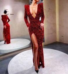 Formal Evening Dresses, Elegant Dresses, Sexy Dresses, Evening Gowns, Beautiful Dresses, Dresses With Sleeves, Senior Prom Dresses, Gala Dresses, Sexy Party Dress
