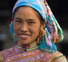Mujer de la etnia Th