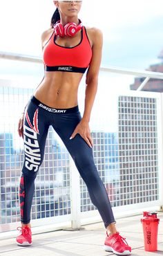 Who says gym wear can't be cute!? Check out the new #shredz lifestyle and fitness apparel #fashion #fitness #fitspo