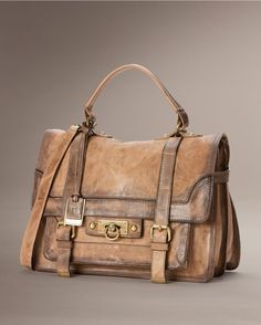 Frye Cameron Satchel - Tan  boots and a bag whaaat!! @countryoutfitter.com